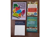 Books x 4 for teaching / facilitation / planning workshops