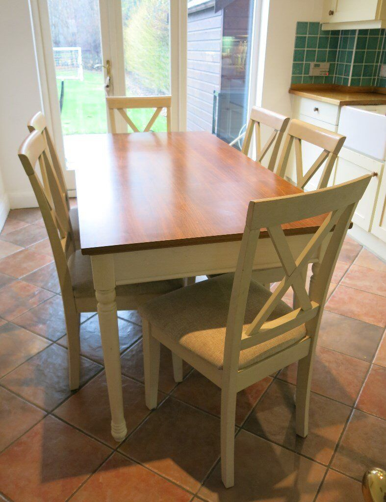 Classic County Kitchen Ellingham 160cm Dining Table And 6 Chairs Kent Location