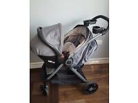 Graco fastaction fold dlx travel system / pushchair/ Stroller