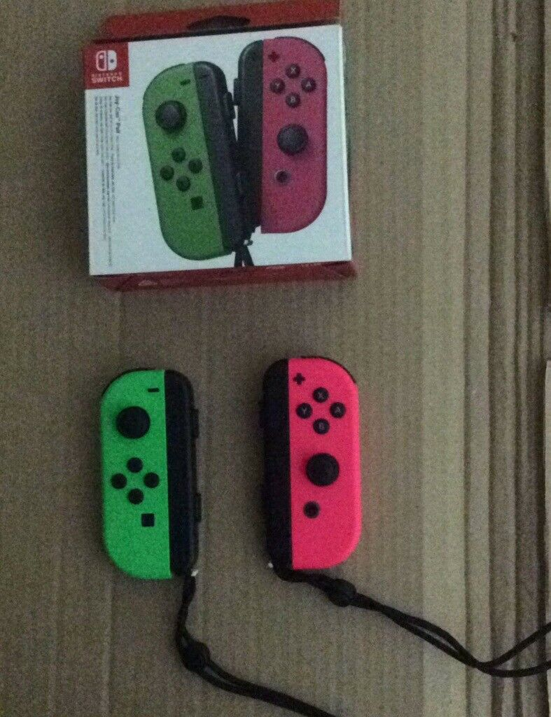 Nintendo Switch: Green and Pink Joy-Con Pair BOXED (Joycon, Joy Con, Left,  Right) | in London Bridge, London | Gumtree
