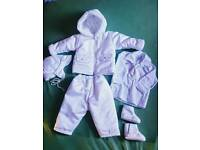 Baby Boy Christening / Baptism Day winter outfit