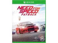 Need for speed payback. Xbox one