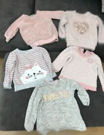Baby girls winter bundle 9-12months