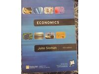 Economics by John Sloman - £5 - collection only