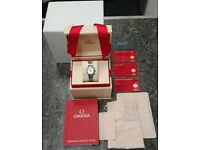 Omega De Ville Prestige Diamond Ladies Watch