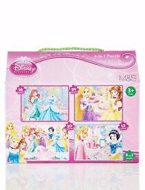 Children's Disney Princess Puzzle NEW