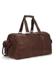 Luxury leather Hold-all / Weekend / Sports Bag
