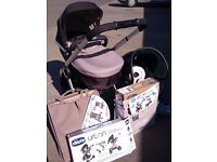 Chicco Urban Travel System - Anthracite / Night IMMACULATE!