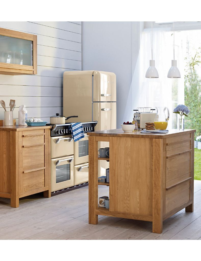 Marks And Spencer Kitchen Furniture Marks And Spencer Sonoma Kitchen Island With Oak Worktop In