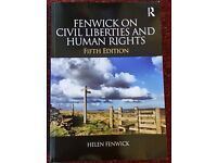 Fenwick on Civil Liberties and Human Rights 5th edition |Routledge Book