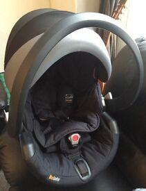 Car seat stokke
