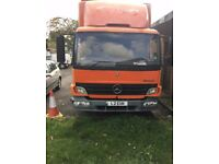 Mercedes 815 box truck spares or repair