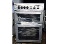 GREY BEKO 60cm ELECTRIC COOKER, 4 MONTHS WARRANTY, FREE LOCAL DELIVERY