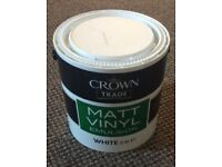 Crown white paint