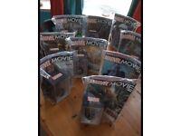 Marvel Movie Magazine With Figurines