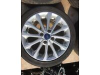 Ford Fiesta R16 Alloy Wheel Set of 4 195/45/R16