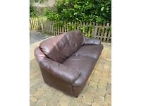 Free sofa brown leather