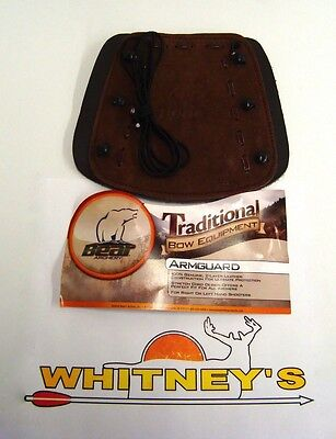 Fred Bear Archery Traditional Bow Equipment - Armguard AT9AG - For Recurve/ -