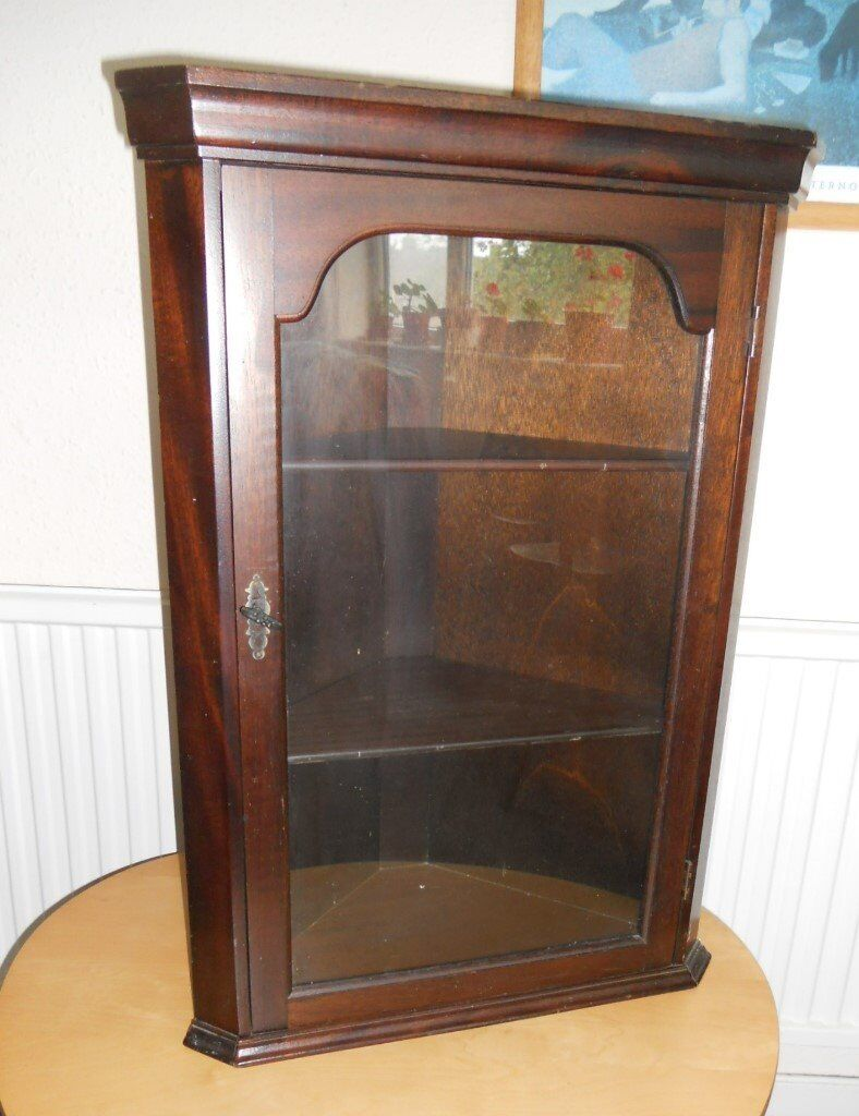 Corner Wall Cupboard With Glass Door In Llanishen Cardiff Gumtree
