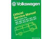 VOLKSWAGEN Official Service Manual Station Wagon/ Bus 1968 to 1979 (Bentley Publishers)