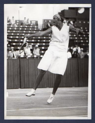 ORA WASHINGTON African American Woman Tennis Champion ORIG PHOTO Black Americana