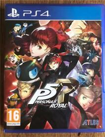 Persona 5 - PS4 - Excellent condition