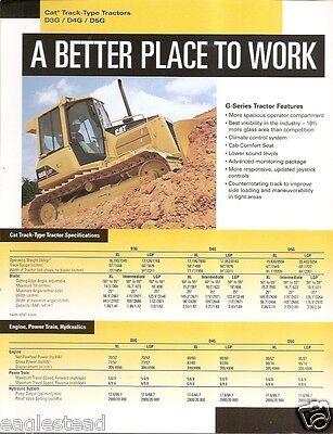 Equipment Brochure - Caterpillar - D3g D4g D5g Track-type Tractor - 2002 E1106