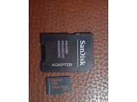 Sandisk Ultra 128GB Mirco SD Card! FOR SALE!