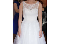 Beautifull WEDDING DRESS size 8-10