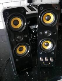 Creative T40 Gigaworks speakers