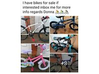 BIKES BIKES FOR SALE Great prices