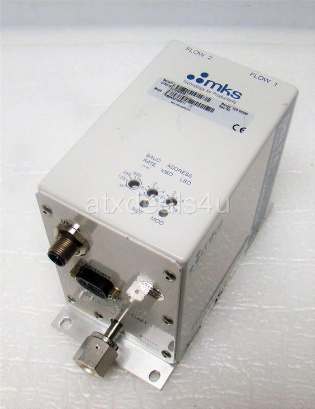 mks FRCA52163311 500 SCCM N2 Delta Flow Ratio Controller