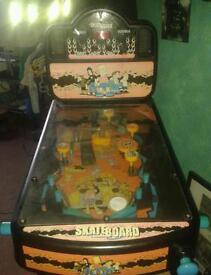The Simpson pinball machine