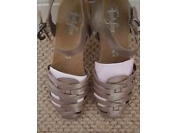 M&S Footglove leather sandals