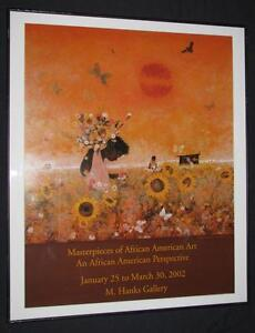 MASTERPIECES OF AFRICAN AMERICAN ART '02 POSTER WALTER WILLIAMS
