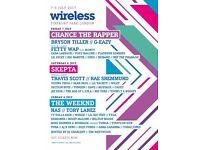 Wireless festival tickets (all 3 days)