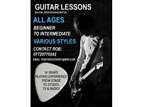 Guitar Lessons in Bolton, Great Manchester - All Ages, Beginner to Intermediate