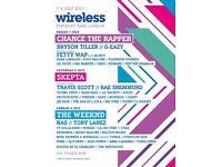 Wireless Festival - Saturday 8th July & Sunday 9th July 2017