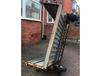 6ft x 4ft lightweight metal trailer