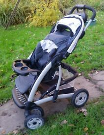 Graco Buggy, stable & comfy, suitable from birth, cost £400 when new