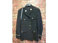 U.S. Army Infantry dress uniform Jacket brass buttons military militaria
