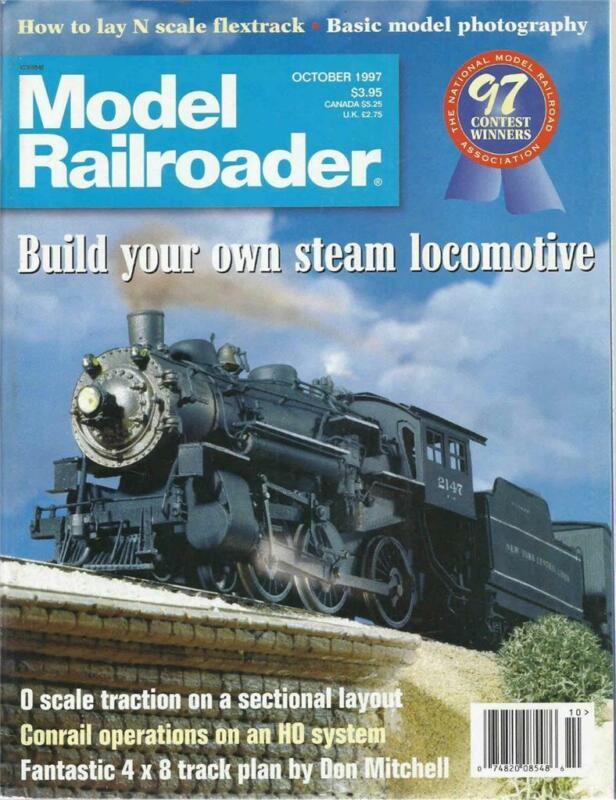 Model Railroader October 1997 Basic Model Photography Ho Conrail Cen. PA Layout