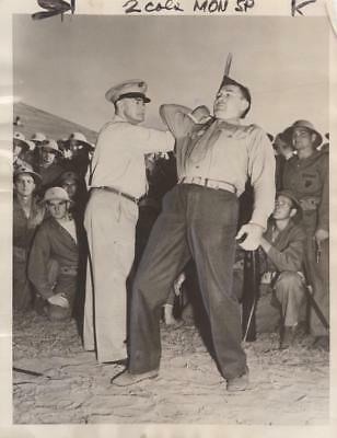 Col. Drexel Dibble teaching Self Defense 12/23/42 AP Wire - military still
