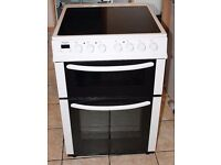White Bush 60cm Freestanding electric cooker