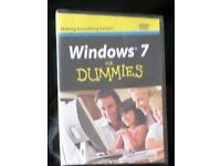 Windows 7 for Dummies by Andy Rathbone - book and DVD