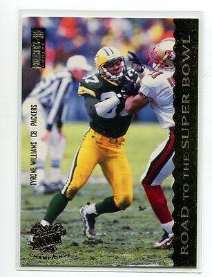 1997 Packers Choice Shopko  76 Tyrone Williams Nebraska Green Bay Packers