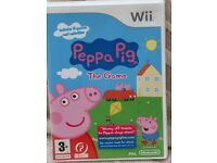 Nintendo Wii Peppa Pig The Game