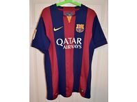 Nike Barcelona FC - Home COMPLETE Football Kit - Ages 12 to 13 - Excellent Condition