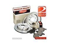 Qashqai Qashqai 2 I Rear Vented 292mm Brake Discs /& Pads Set Unipart Nissan