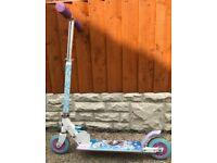Kids Disney Frozen Folding Inline Scooter